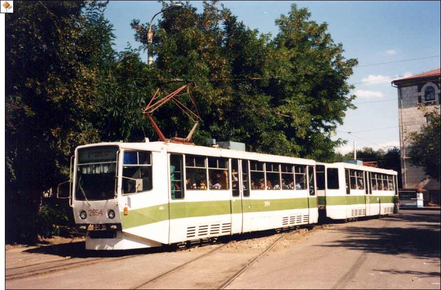 Волгоградский скоростной трамвай - КТМ-11.